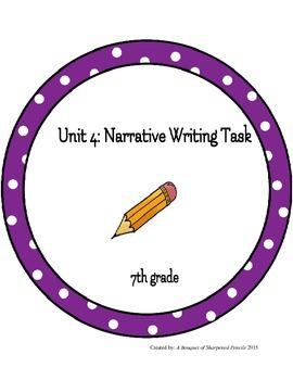 Narrative Writing Task UbD Unit