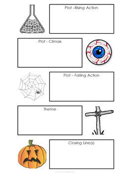 Narrative Writing Task with a Spooky Story