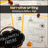 Narrative Writing Task with a Halloween Story