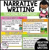 Narrative Writing - Teaching PowerPoint Presentation