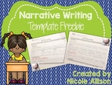 Narrative Writing Template {Freebie}
