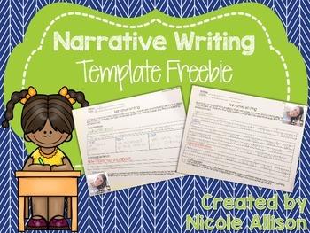 Narrative Writing Template {Freebie}