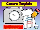 Narrative Writing Template Photo Journal Camera and Paper for 2nd and 3rd