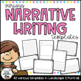 Narrative Writing Templates