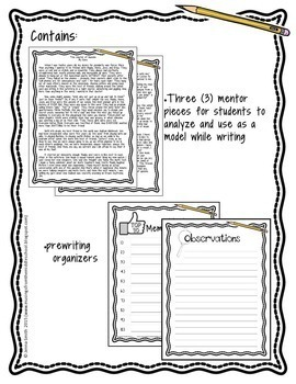 Narrative Writing: The Bundle