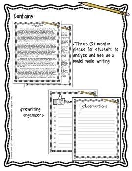 Narrative Writing: The Bundle