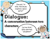 Narrative Writing - The Many Rules of Dialogue Anchor Chart