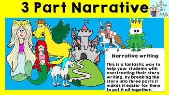 Narrative Writing: Three Part