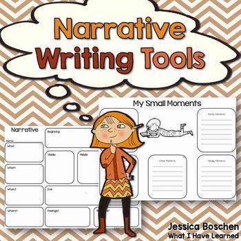 Narrative Writing Tools {Grades 1-5}