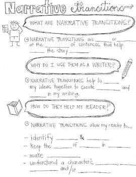 Narrative Writing-Transitions