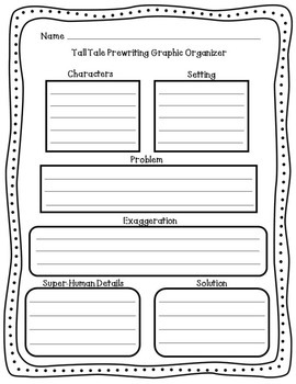 How to Write a Tall Tale for 5th Grade