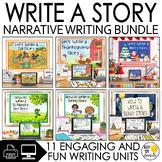 Narrative Writing Unit Bundle   Year Long Bundle