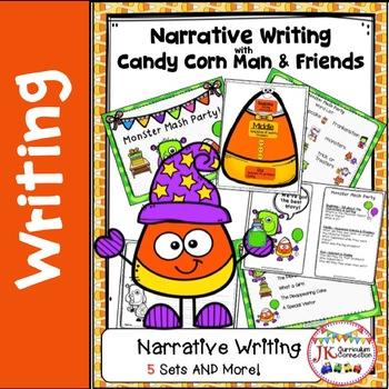 Narrative Writing Unit - Candy Corn Man & Friends