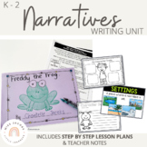 Narrative Writing Unit   Fiction Unit - great for distance learning