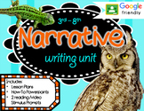 Narrative Writing Unit GOOGLE ready Reading Text Based Stimulus