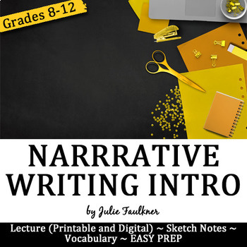 Narrative Writing Unit Introduction Lesson, Digital and Traditional