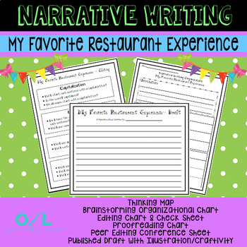 Narrative Writing Unit - My Favorite Restaurant Experience