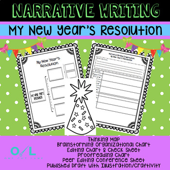 Narrative Writing Unit - My New Year's Resolution