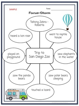 Personal Narrative Writing Unit for Grades 2 & 3: My Fun Trip