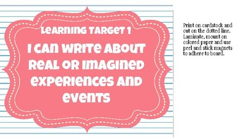 Narrative Writing Unit Pack: Common Core Student and Teacher Resources