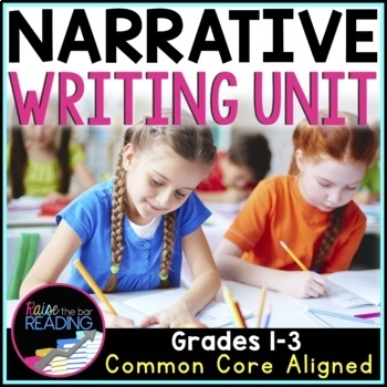 Narrative Writing Unit: Posters, Graphic Organizers, Picture & Writing Prompts
