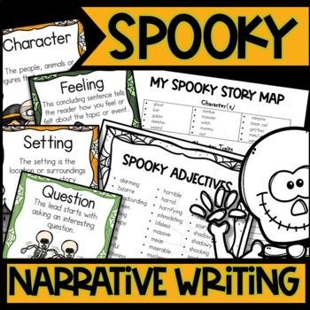 Spooktacular Writing Fictional Narrative Unit