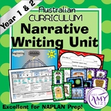 Narrative Writing Unit - Year 1 and 2
