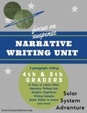 Suspense Writing: Narrative Writing Unit for 4th and 5th Graders