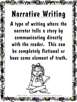 Narrative Writing Unit for the Common Core