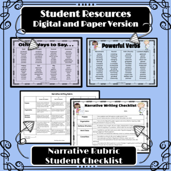 Narrative Writing Unit with Photo Prompts (Scaffolded for Special Education)