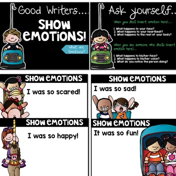 Narrative Writing Using Strong Emotions
