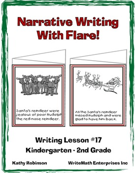 Narrative Writing With Flare | Holiday Writing Workshops | K, 1st, 2nd Grade