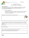 Narrative Writing Worksheet
