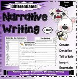 Narrative Writing Worksheets