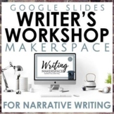 Narrative Writing Workshop Makerspace on Google Slides