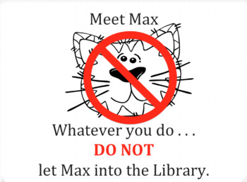 Narrative Writing Workshop: Max, The Library Cat