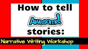 Narrative Writing Workshop Powerpoint Presentation