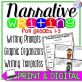 Personal Narrative Writing Prompts and Graphic Organizers