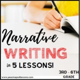 Narrative Writing Graphic Organizer | Personal Narrative | 3rd, 4th, 5th, 6th