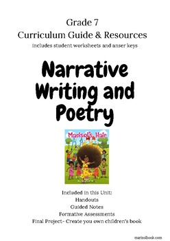 Narrative Writing and Poetry