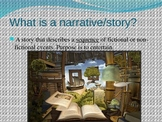 Narrative Writing and prompt