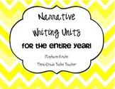 Bundle of My Narrative Writing Units!