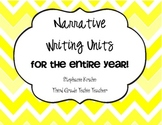 Bundle of My Narrative Writing Units!