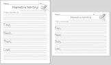 Narrative Writing  forms