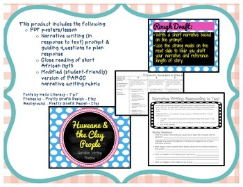 Narrative Writing in Response to Text