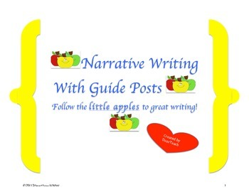Narrative Writing with Guide Posts