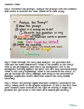 Narrative Writing with Myth Packet