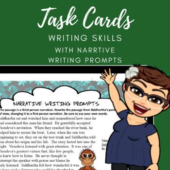 Narrative Writings Task Cards