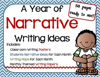 Narrative Writings for All Year Long