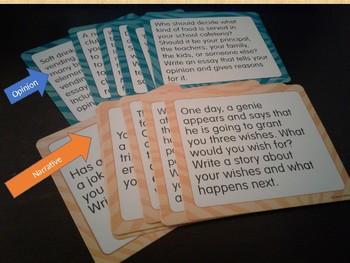 Narrative and Opinion Story Starters